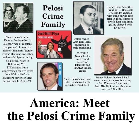 BREAKING: Pelosi Crime Family EXPOSED