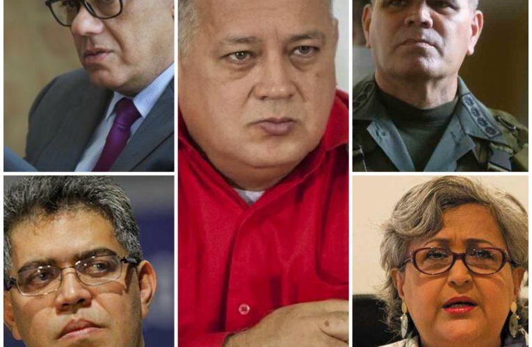 The Socialist Thugs Hurt By Trump's Venezuela Sanctions