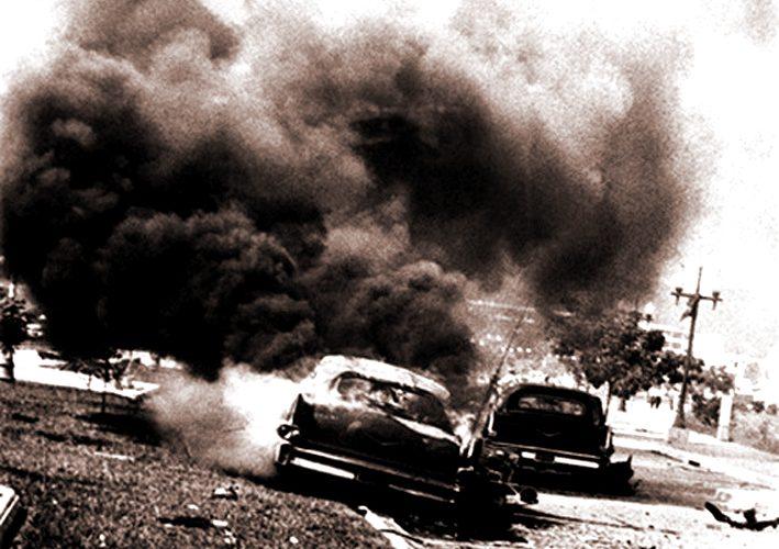 The burned hands incident Venezuela old story