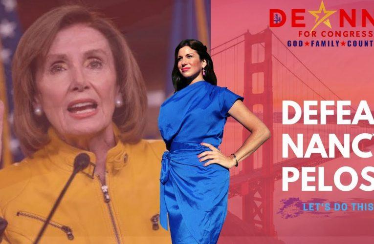 Conservative Firebrand And Romance Guru Deanna Loraine Runs Against Nancy Pelosi