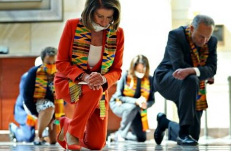 Pelosi faces massive black Backlash over her Black Lives Matter stunt for one tiny reason