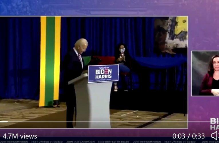 Joe Biden Has Warren Moment, Dances In Senile Manner To Win Latinos Over