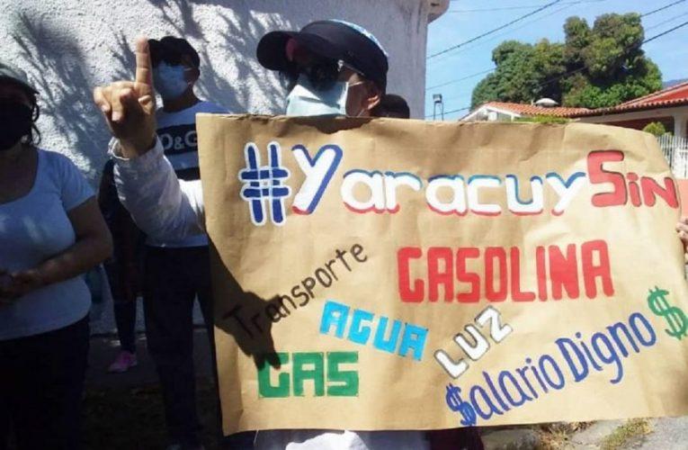 No gas, No water, No oil, No life. Starting several riots in Venezuela