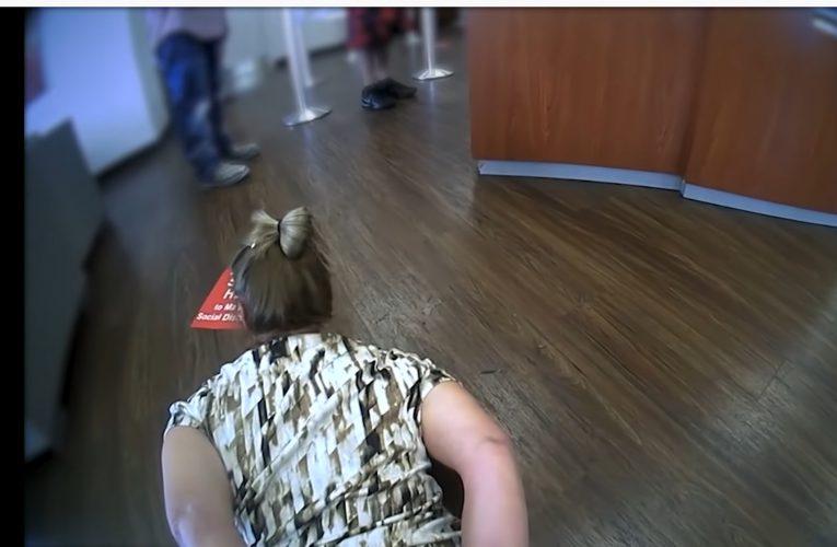 Bank Of America Has Police Break Elderly Woman's Foot For Not Wearing Mask